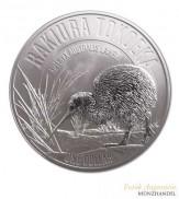 Neuseeland $ 1 Silber Kiwi 2017 Blisterversion  - Rakiura Tokoeka