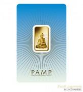 Goldbarren Pamp Suisse 5 g .9999 Gold Motiv Buddha