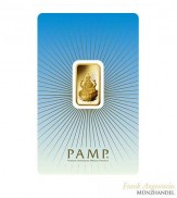Goldbarren Pamp Suisse 5 g .9999 Gold Motiv Lakshmi