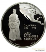 Portugal 200 Escudos Platin 1 oz Joao Rodrigues Cabrilho 1992
