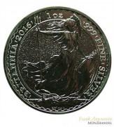 Großbritannien 2 Pfund Britannia Silber 2016