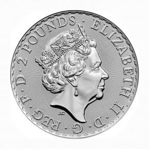 Großbritannien 2 Pfund Robin Hood .999 Silber 2021