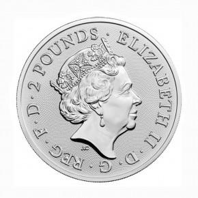 Großbritannien 2 Pfund Maid Marian .999 Silber 2022
