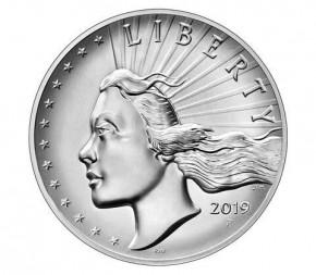 USA American Liberty High Relief Silber 2019 - 2. Ausgabe