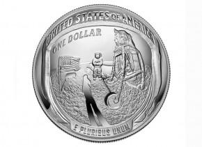 USA $ 1 Silber PP 50 Jahre Mondlandung Apollo 11 2019