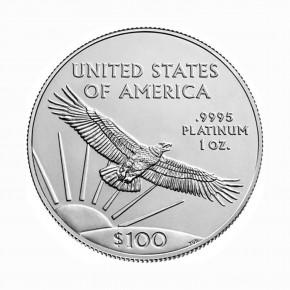 USA $ 100 Platin Eagle 1 oz .9995 Pt 2021