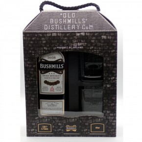 Bushmills Original Irish Triple Distilled Whisky 1,0 l/40% incl. 2 Gläsern