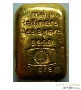 Goldbarren E.me.ko. 50 g .9999 Gold gegossen