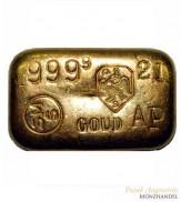 Goldbarren gegossen Schöne Edelmetall B.V. 100g .9999 Gold