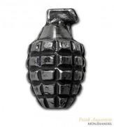 Silberbarren Handgranate MK Barz 5 oz .999 Silber gegossen