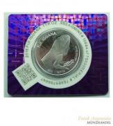 1 $ Fiji Iguana / Leguan Silber 2015