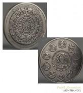 Mexico 100 Pesos Aztekenkalender 1 kg Silber 2017 Antik Finish
