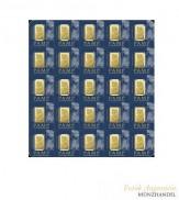 Pamp Suisse Goldbarren MULTIGRAM +25 .9999 Gold
