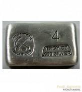 Silberbarren Prospector`s Gold & Gems  4 oz .999 Silber gegossen
