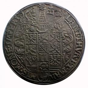 Sachsen Alt Weimar 1 Taler Friedrich Wilhelm und Johann 1589
